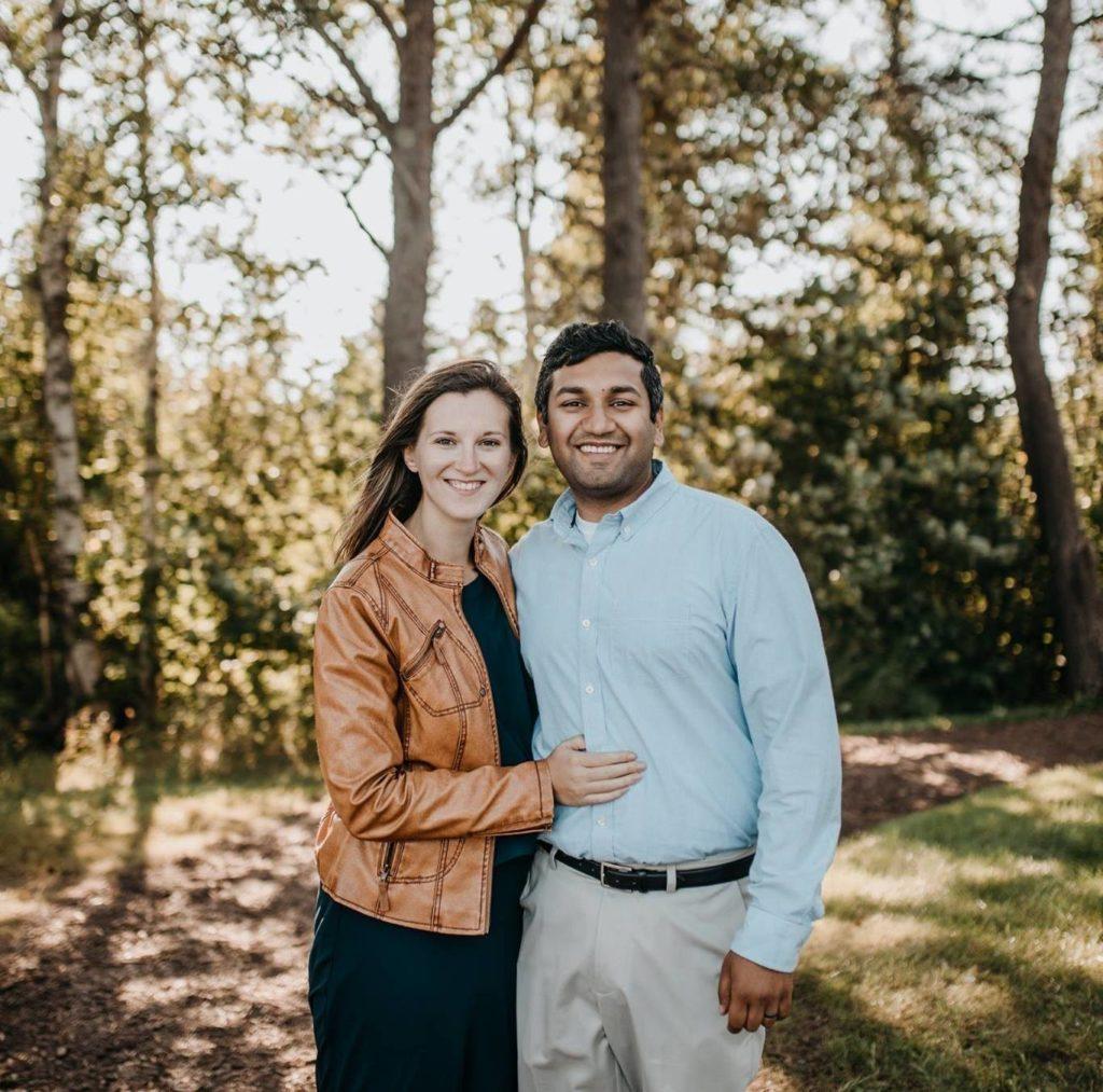 Cassie and her husband, Matt.