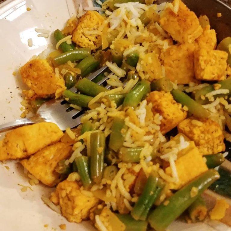 tofu-green-beans