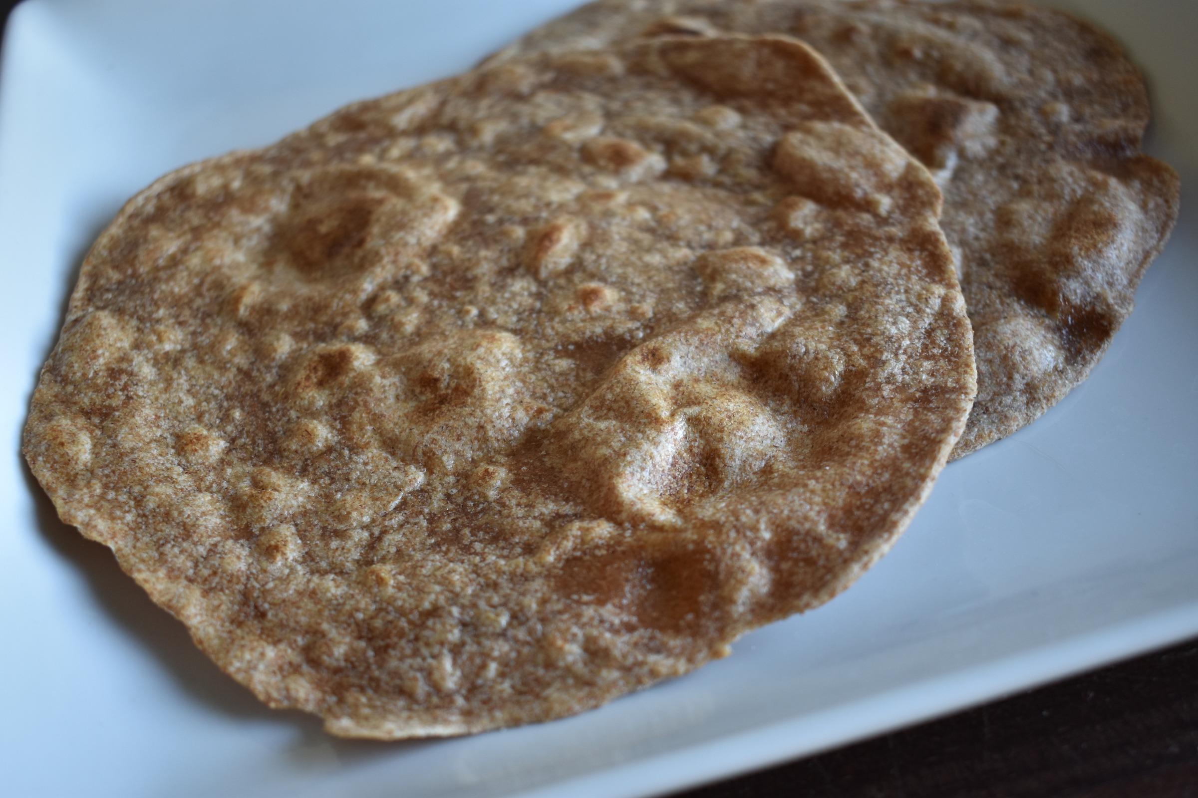 Chapati Roti Indian Style Flatbread