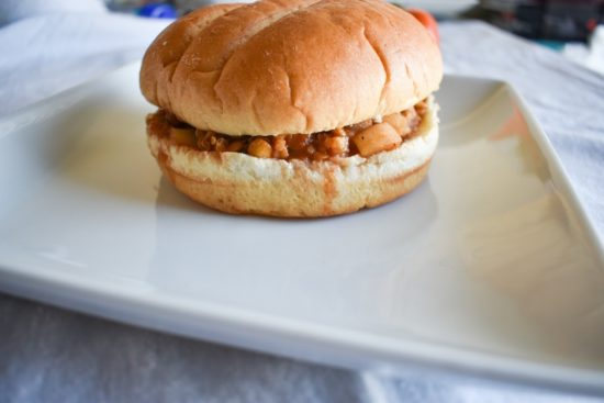 Vegan Lentil Quinoa Sloppy Joes
